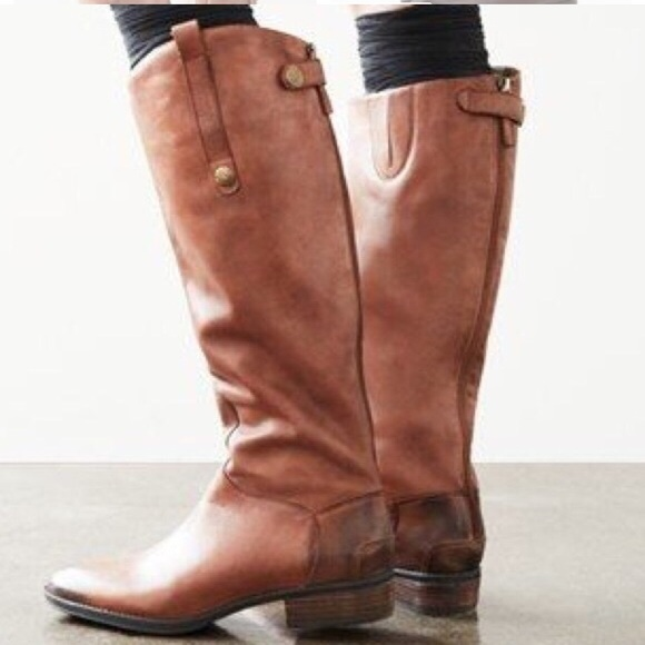 207fa2a0031a6a Sam Edelman Penny 2 Whiskey Tall Riding Boots. M 5c76fdb9df030783648f18a9